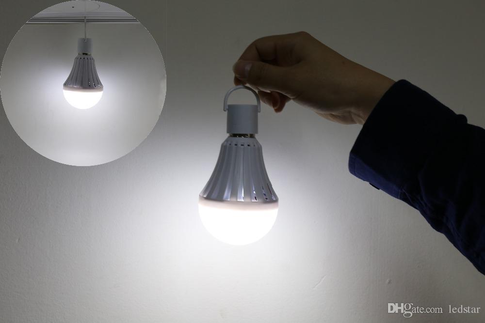 E27 leb lampadine intelligenti emergenza ricaricabile della lampada della lampadina di SMD 5730 5W / 7W / 9W / 12W ha condotto le luci
