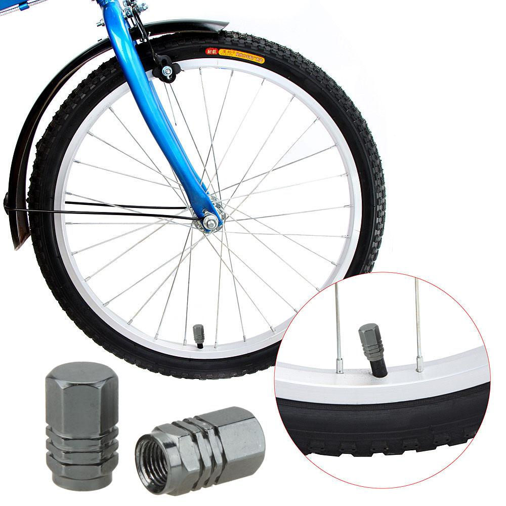 Road Bicycle Valve Cap Aluminium Alloy Motor Bike Car Valve Cap Mouth Cover Tyre Wheel Rims Stem Air Valve Dust Cap
