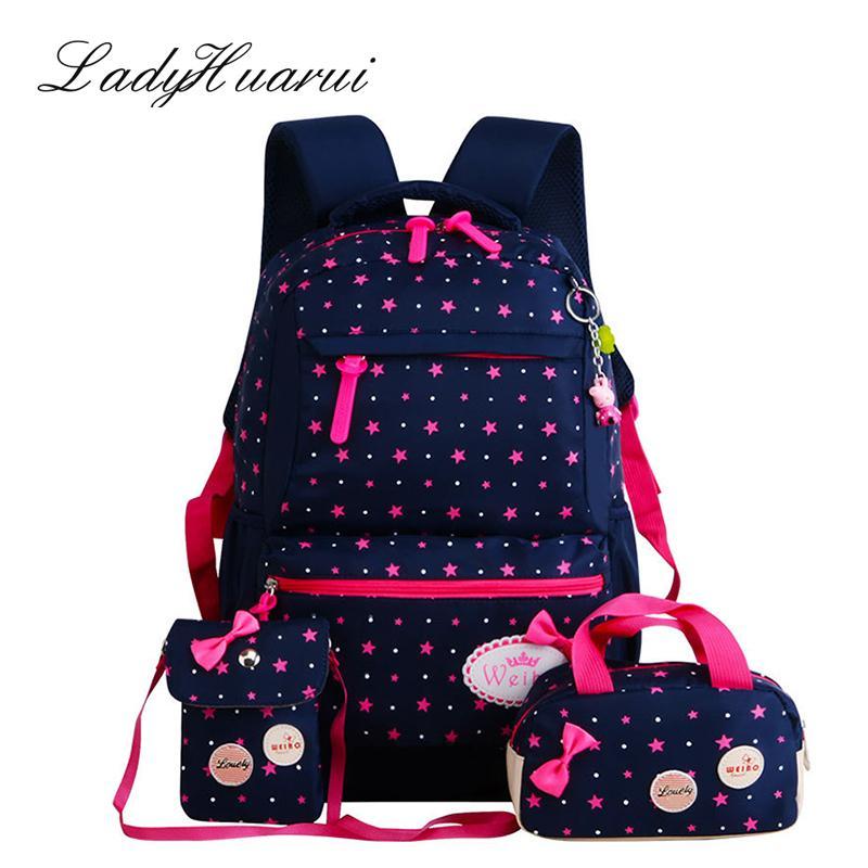 109945a0f328 Ladyhuarui New  Set Rucksack Girl School Bags For Teenagers Backpack Set  Women Shoulder Travel Bags Mochila Knapsack Q2 Backpacks For College  Backpacker ...