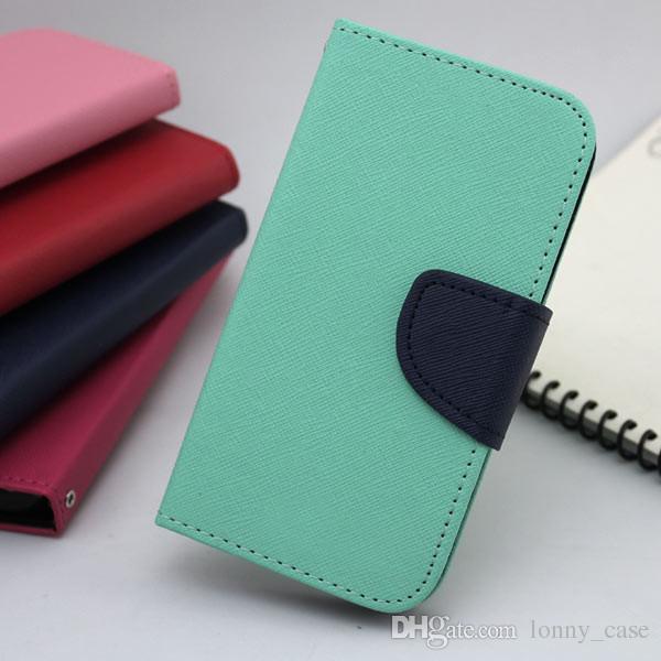 For Samsung galaxy J5 Prime on5 2016 J7 Prime on7 2016 flip Leather wallet phone case cover inside credit card Slots