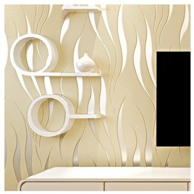Hot Sale Modern Embossed Wallpaper 7 Colors Wall Paper Roll For Living Room Bedroom Wedding Decoration Free Shipping