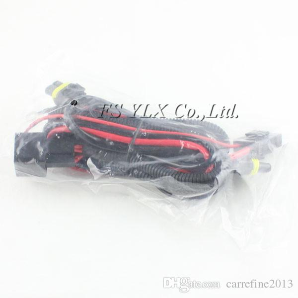 HID Xenon Kit Single Beam Wire Harness Cable with Relay for H1 H7 H8 H9 H11 9005 9006 relay harness socket