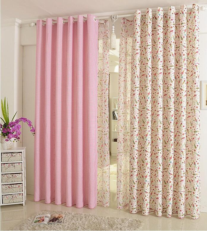 2018 Curtains For Kids Children Girl Cartoon Tulle Sheer Floral Bedroom Princess Eco Friendly From Bigmum 5644