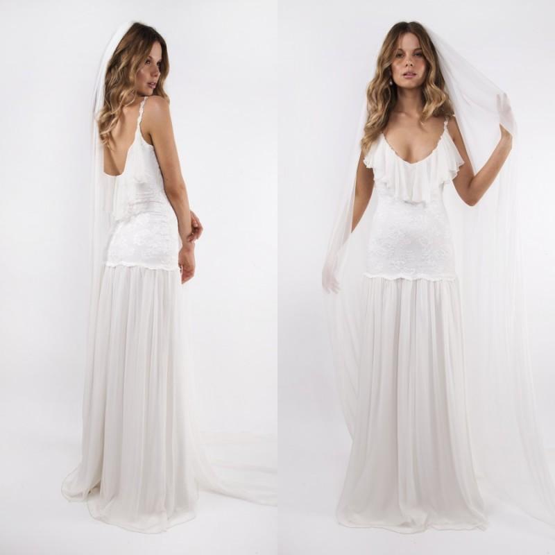 2015 Spring Beach Greek Goddess Wedding Dress Open Back: 2015 Greek Goddess Wedding Dresses Summer Beach Sexy