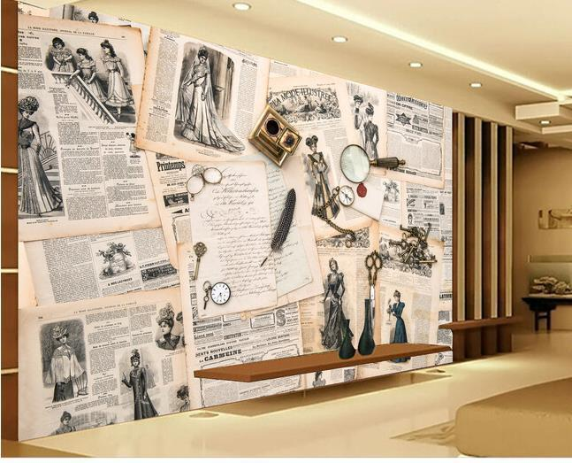 Großhandel d wallpaper europäischen minimalistischen