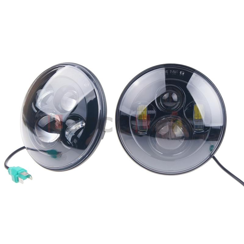 7 inch Motorcycle Projector Daymaker Headlight HID LED Light Bulb