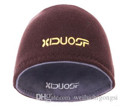 Korean Women Men Beanie Autumn Winter Wool Warm Hat Scarf Knitting Skull Hairwear Bonnet Hiver