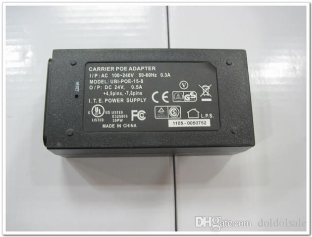24V 0.5A شاحن RJ45 موصل POE الطاقة عبر محول التيار الكهربائي إيثرنت
