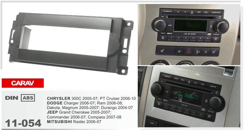 Carav 11 054 Top Quality Radio Fascia For Chrysler 300cdodgejeep Rhdhgate: 2007 Jeep Grand Cherokee Interior Radio At Gmaili.net