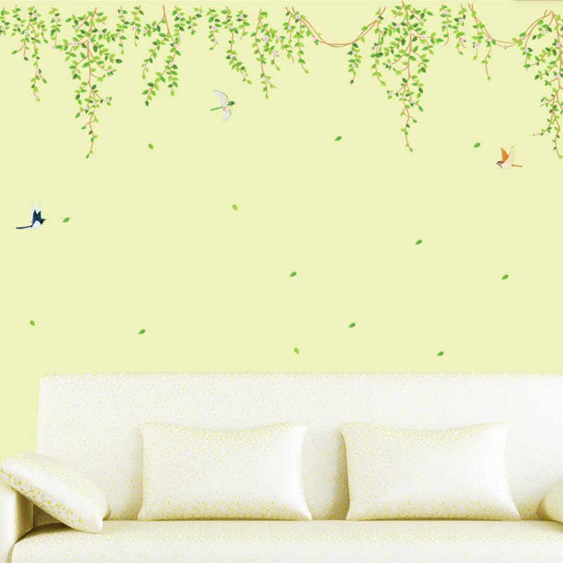 Wall Stickers Tree Wall Sticker Texture Home Decor Furnishings ...