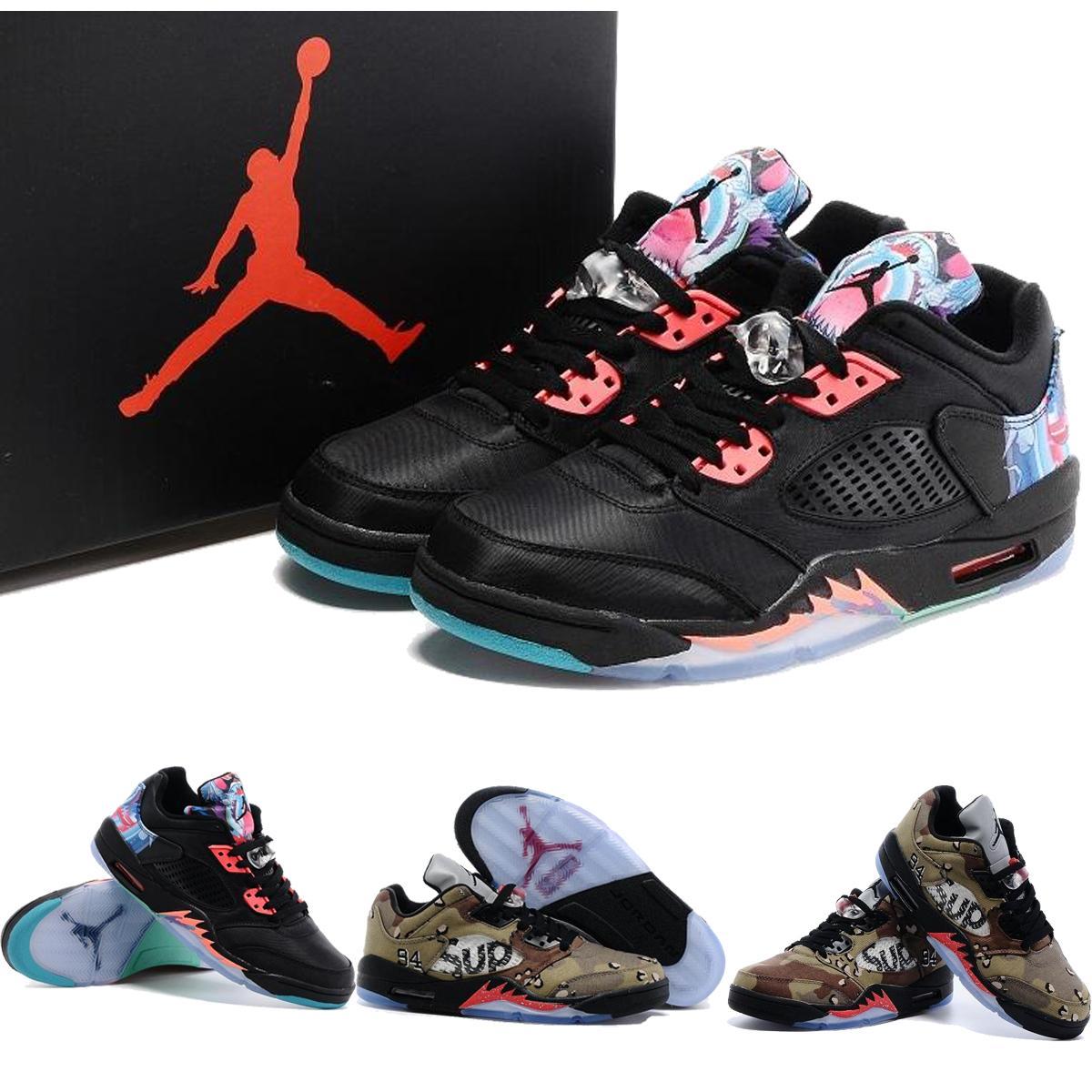 pretty nice 395ac 81eaf Großhandel Nike Air Jordan 5 Retro V China Supreme Low Herren Basketball  Schuhe, Großhandel Günstige AJ5 Retro 5 V Für Männer Low Schuh Turnschuhe  J5S Größe ...