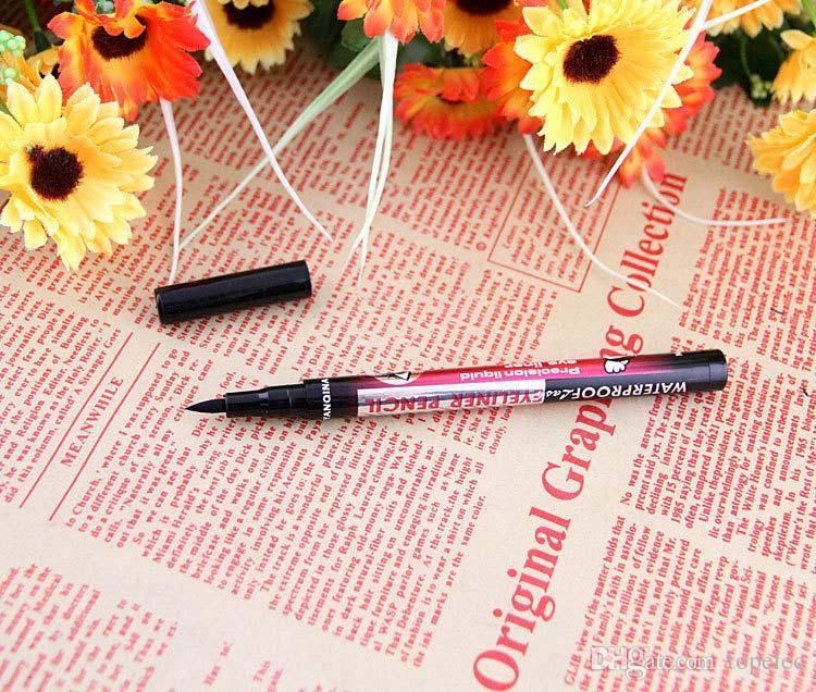 En existencia Venta caliente de maquillaje 36H Pen Liner delineador de ojos a prueba de agua Larga duración Maquillaje de ojos Cosmético DHL GRATIS # 71607