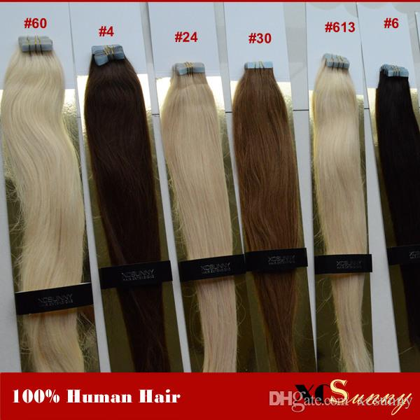 Xcsunny tape in hair extensions remy wavy 1820 human hair xcsunny tape in hair extensions remy wavy 1820 human hair extensions tape 100g 100 indian virgin human hair tape in extension wholesale human hair tape pmusecretfo Gallery