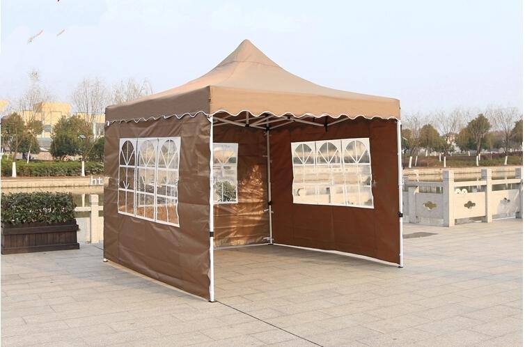 Attractive Custom Outdoor Wedding Party Tent Patio Gazebo Canopy Folding Canopy With  Side Walls 10u0027X10u0027 Via Dhl Shipping Simple Wedding Decorations Wedding  Decoration ...