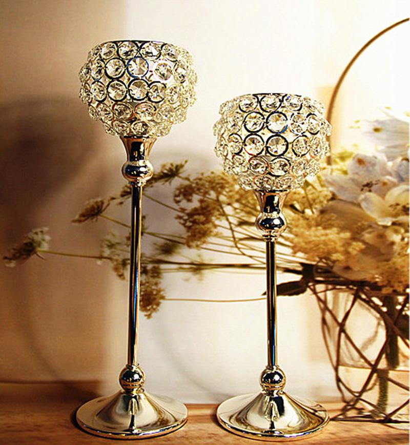 Crystal Ball Candles Holder Birthday Christmas Xmas Decorations ...