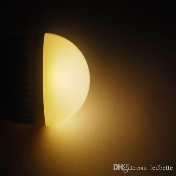 AC85-265V dimmable 9w 3X3W E27 E14 B22 GU10 base type warm / cold white LED bubble ball bulb spotlight corn lamp