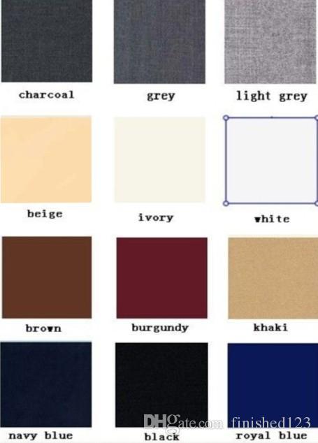 세련된 두 버튼 하얀 신랑 턱시도 노치 옷깃 Groomsmen 최고의 남자 웨딩 댄스 파티 정장 자켓 + 바지 + 조끼 + 넥타이 G5192