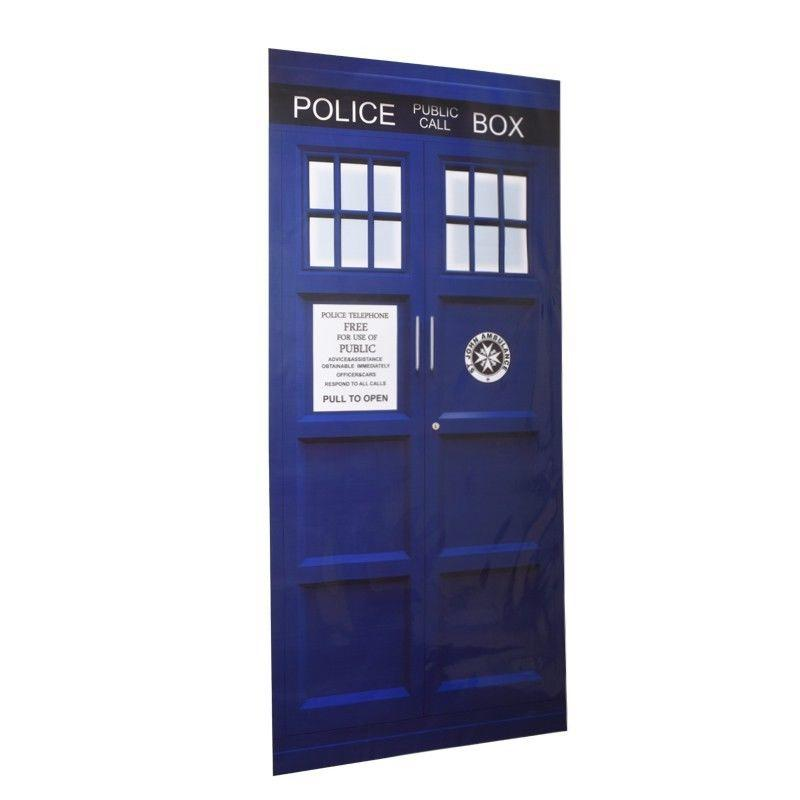 Anime Doctor Who Door Decal Vinyl Sticker Blue Tardis Fathead Style Wall  Decal Graphic Unique Mural Vinyl Wall Art Quotes Vinyl Wall Art Stickers  From ...