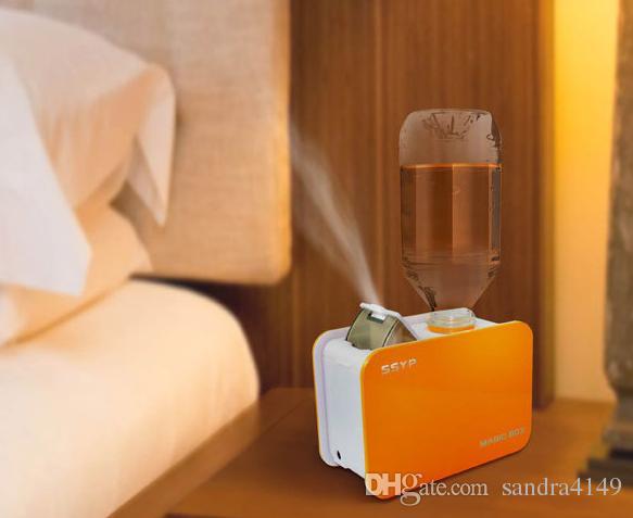 Магия мини бутылка воды увлажнитель воздуха ультразвуковой увлажнитель воздуха паровой аромат диффузор туман чайник для Бюро путешествий очиститель