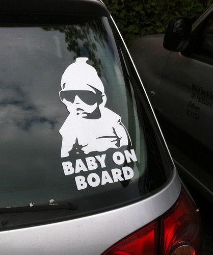 Buy cheap car stickers for big save small size car sticker cool baby on board car styling motorcycle sticker vinyl decal reflective personalized waterproof