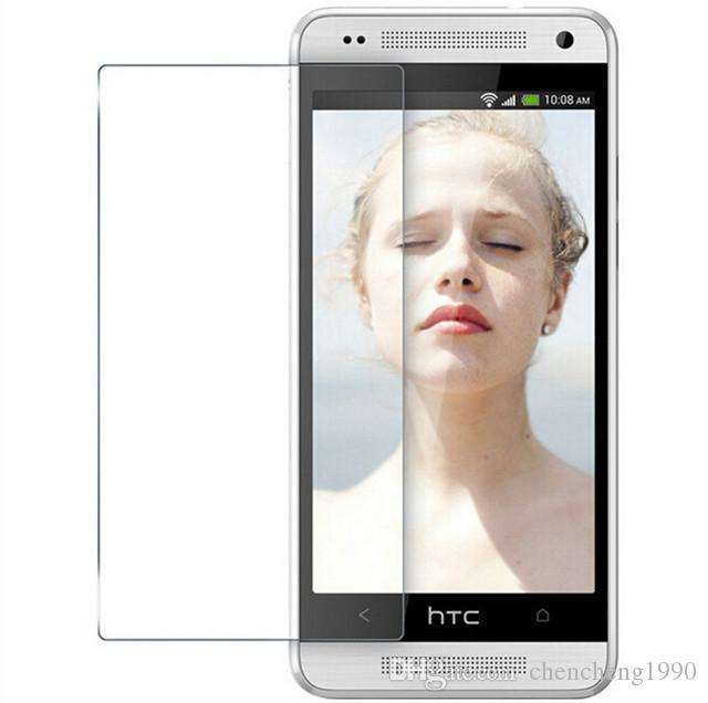 HTC 0.26mm 9H 2.5D Durezza Vetro Temperato Protezione Dello Schermo Della Copertura Della Copertura htc uno m7 m9 m9 m9 Più E8 E9 E9 più spedizione gratuita