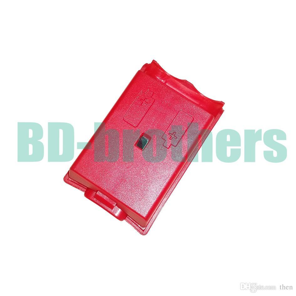 الملونة حالة البطارية غطاء شل الإسكان ل xbox 360 xbox360 تحكم لاسلكي قابلة استبدال أسود أبيض أحمر وردي 400 قطعة / الوحدة