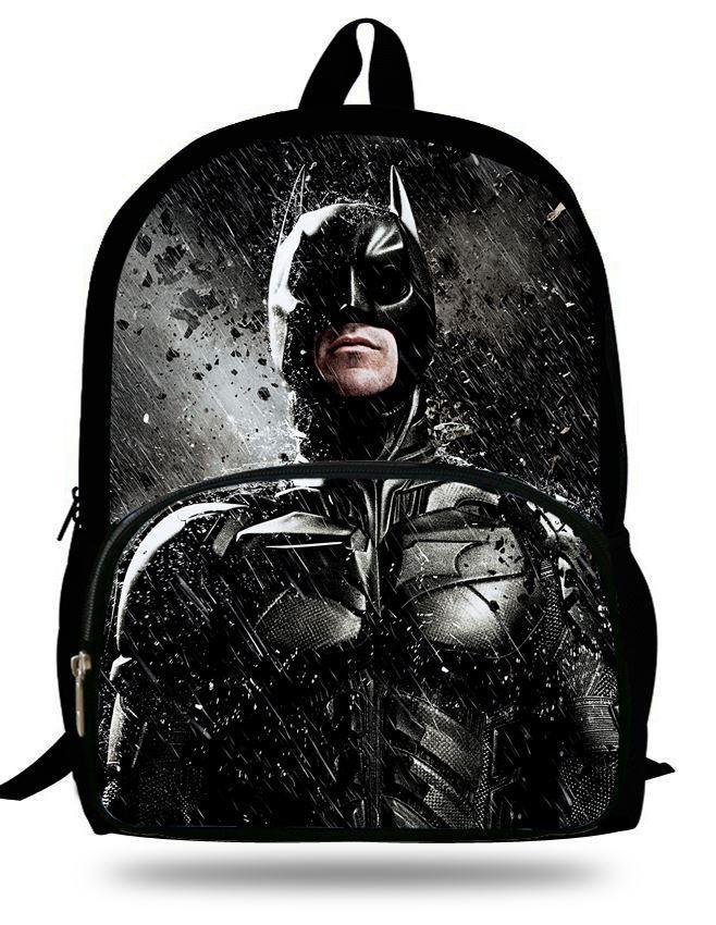 16 Inch Mochila Escolar Batman School Backpacks For Boys Kids School Bags  For Teenagers Cartoon Children Backpack Batman Bag Batman Backpack Running  ...