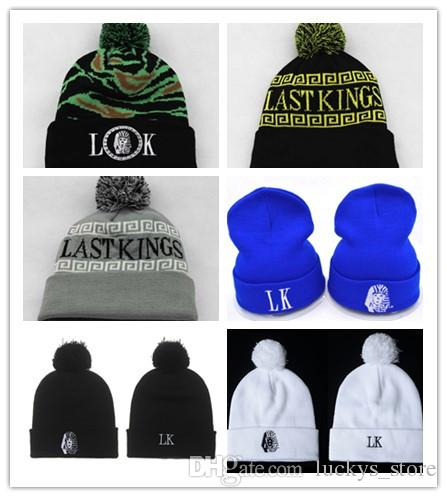 3ac19bfd Hot Sale LK Beanie Men Women Last Kings Beanie With A Pom Hat Sports Winter  Cap Men Hat Beanie Knitted Winter Cheap Hats Hat Hats From Luckys_store, ...