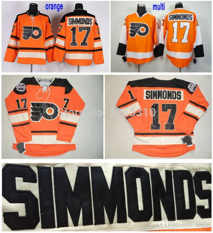 bfeca5f8 2016 New, Philadelphia Flyers Wayne Simmonds Jersey #17 Orange Cheap  Wholesale 2012 Winter Classic Hockey Jerseys Stitched Top Quality Hockey  Mask Hockey ...