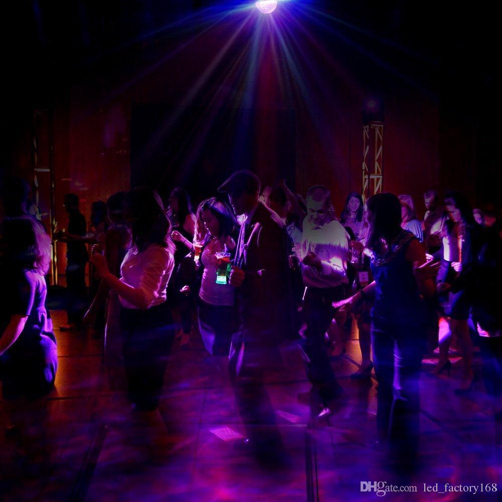 Onda de água Luzes Do Palco Onda De Água Do Oceano Luzes Do Partido Projetor de Iluminação De Discoteca Bola De Cristal Com Controle Remoto para Casa Sala de Dança Nascimento