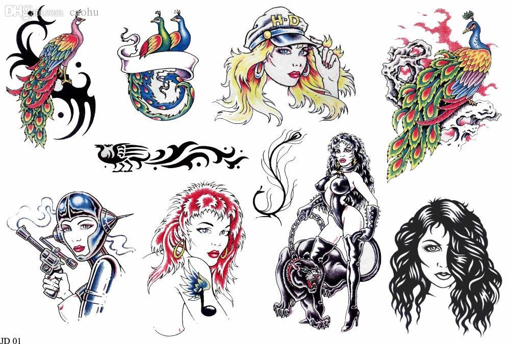wholesale pdf format tattoo book traditional tattoo 140 oriental women fairy tale skull tattoo. Black Bedroom Furniture Sets. Home Design Ideas