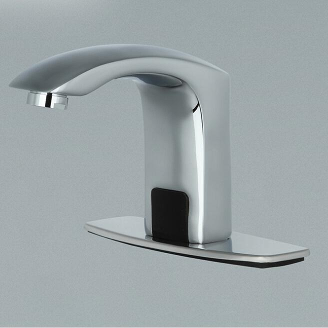 Induction Faucet Thickening Basin Faucet Hotel Kitchen Washbasin ...