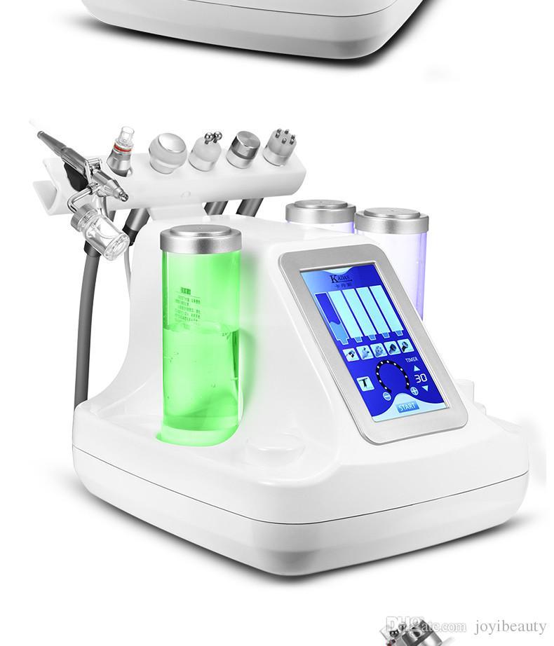 6 en 1 Hydro Dermabrasion Water Oxygen jet Peeling Diamond beauty machine para Lifting Skin Skin SPA Machine