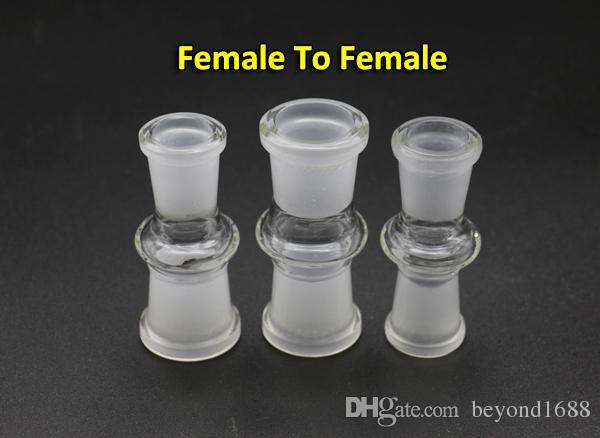 유리제의 드롭다운 접합기 변환기 여성 10mm 여성 10mm,남성 10mm 남성 10mm,14mm18mm 유리제 어댑터에 대한 유리제의 석유 굴착 장치
