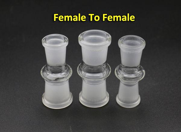 13Specs 유리 접합기 변환기 여성 남성 10mm14mm18mm 여성 남성 10mm14mm18mm 유리제 어댑터에 대한 기억만 물 파이프