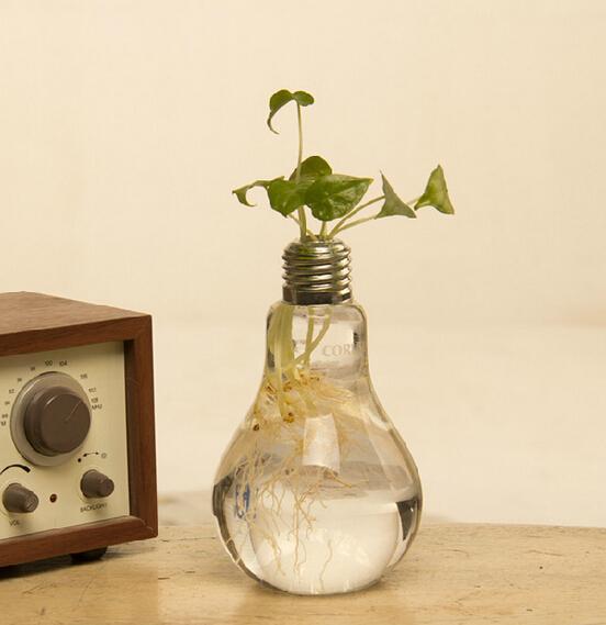 Vaso lampa vas plantor dekorativa vaser glas vaser hem dekoration blomma vaser bröllop dekoration fest dekoration hem inredning blomkrukor