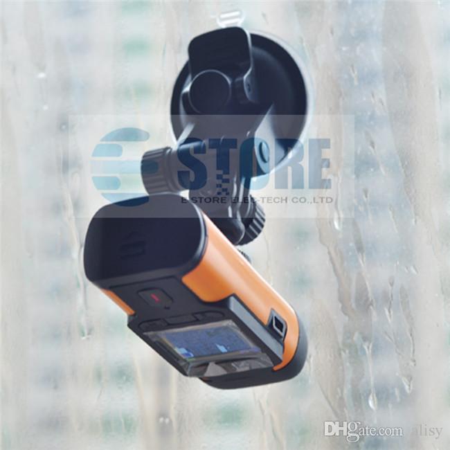 最新のISHARE S300スポーツカメラモーション探偵アクションカムFHD1080Pビデオカメラ自転車デジタルカメラ+カーサブ