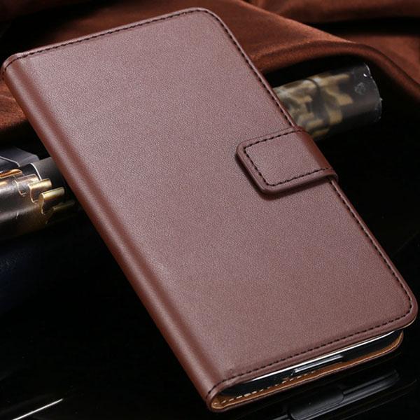 S5 Flip Ledertasche Luxus Wallet Cover für Samsung Galaxy S5 SV i9600 Voll schützen Handytasche aus echtem Leder Tragetasche