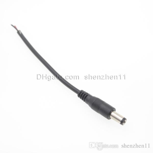 Kabelstecker wasserdichte kabelverbinder elektrische kabelverbinder männlich weiblich pigtail für für cctv-kameras led streifen 5050 3528 dt022