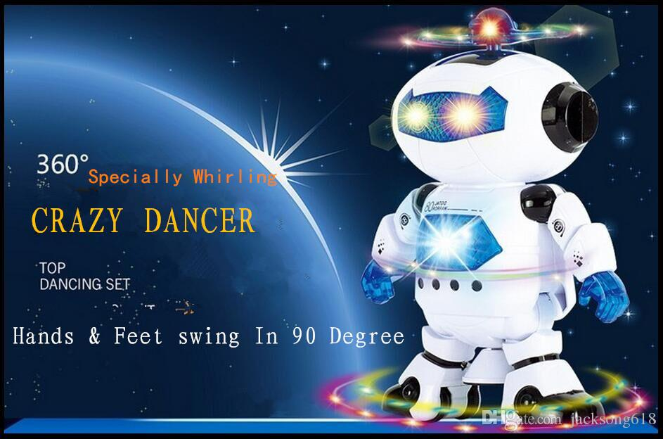 2017 2016 New Arrival Robot Toys For Children Gifts Electronical ...