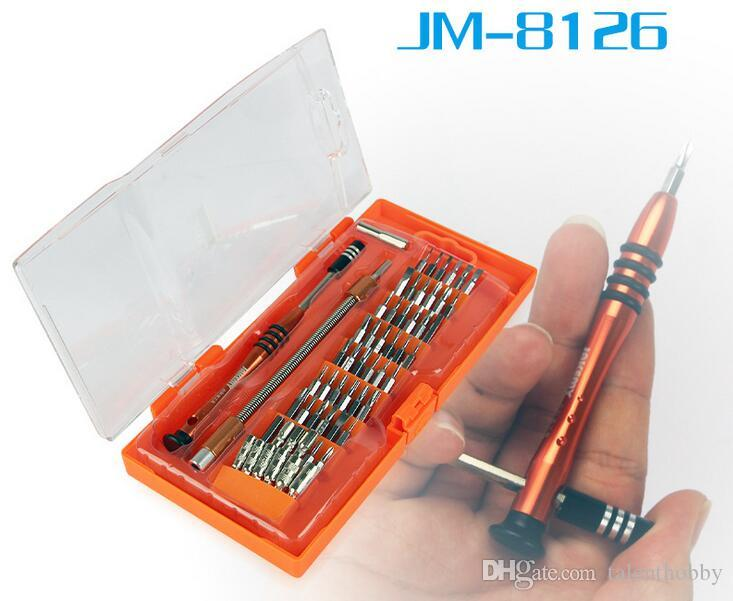 58 in 1 Interchangeable Magnetic Screwdriver Set Repair Tools for Cellphone PC camera glass watch Hardware