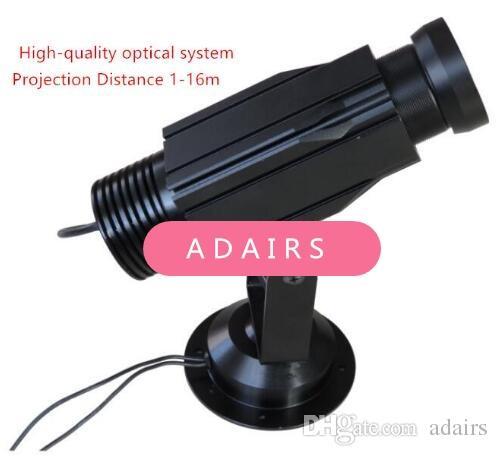 Gümrük lmage Gobo Logo projektör reklam görüntü projeksiyonları lamba ışığı LED igh kaliteli, 12wStatic projecto