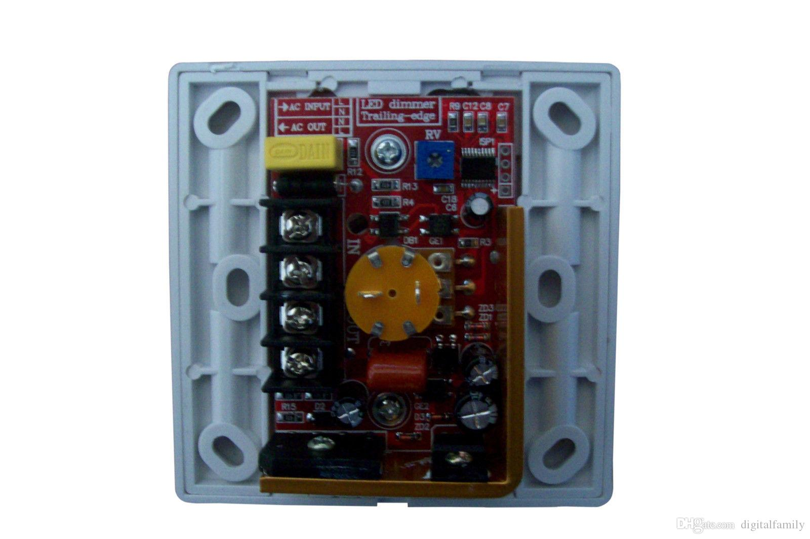2015 новых прибыл светодиодный диммер с ИК-пульт дистанционного управления для затемнения ламп SMD или COB светодиодные полосы 220 - 240 В