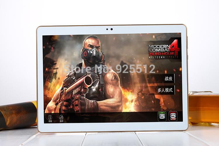 10.1 inch tablet PC IPS screen Dual sim card Eight nuclei Android 5.1 memory 4GBROM32GB Bluetooth WIFI unlimited Internet access