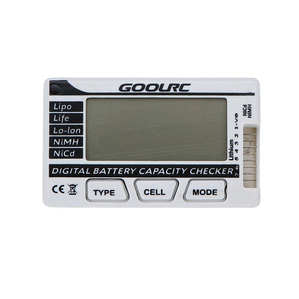 Capacidad estrenar GoolRC digital inteligente de la batería Li-Po inspector por LiFe Li-ion de la batería de NiMH NiCd orden $ 18Nadie pista