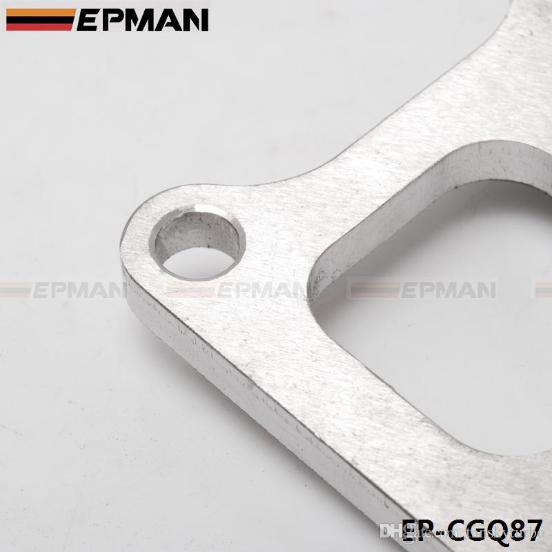 "EPMAN Performance Turbo Exhaust Pipe Flange For Mitsubishi EVO VIII turbo flange 3/8"" 4g63 EP-CGQ87"