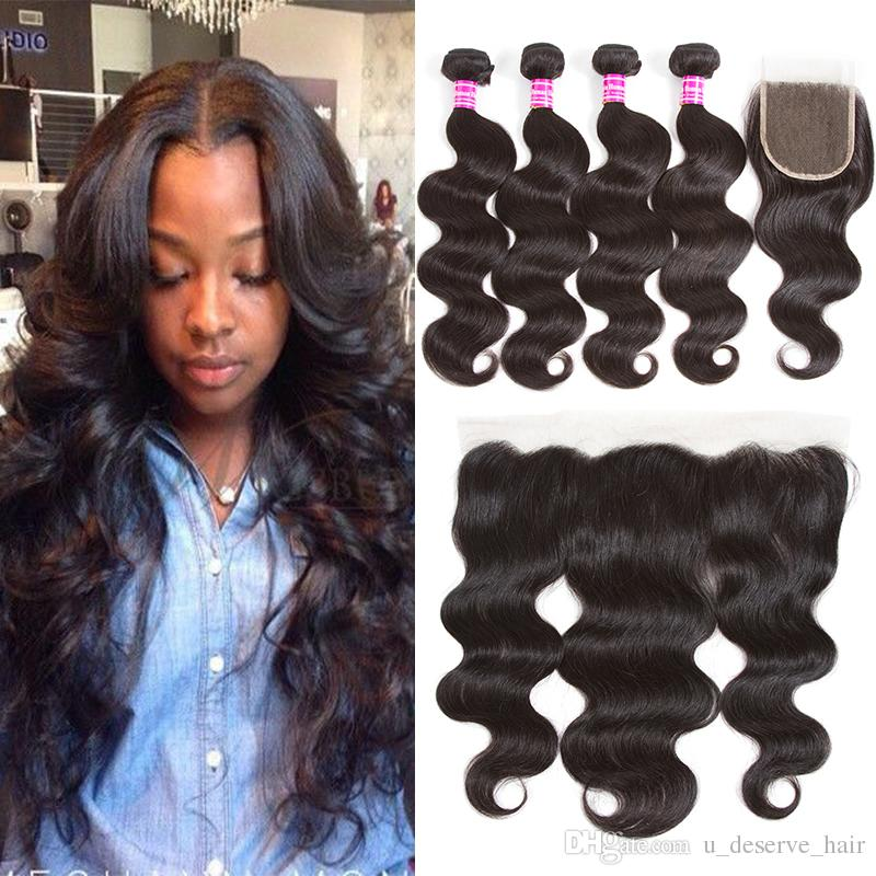 Cheap body wave brazilian weave bundles with frontal closure cheap body wave brazilian weave bundles with frontal closure unprocessed brazilian virgin wet and wary hair and 4x4 lace closure wholesale price hair weaves pmusecretfo Image collections