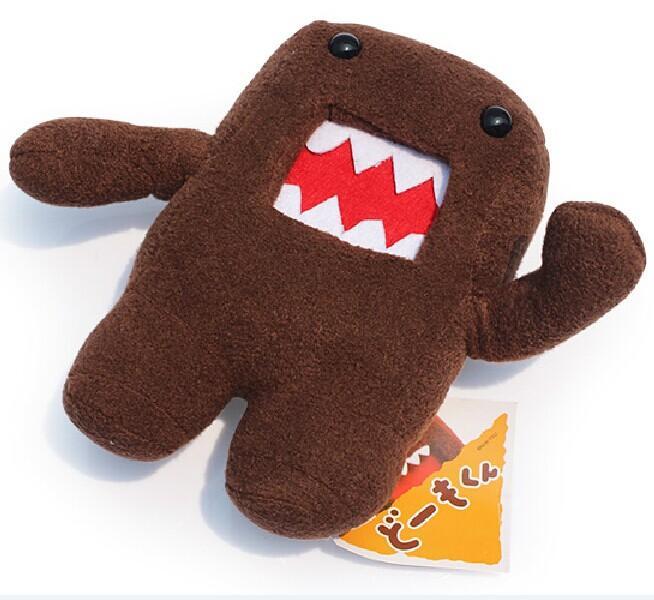 18cm Anime Domo Kun Soft Plush Fylld Doll Toy Cut Bästa Barngåva 5st Fri frakt