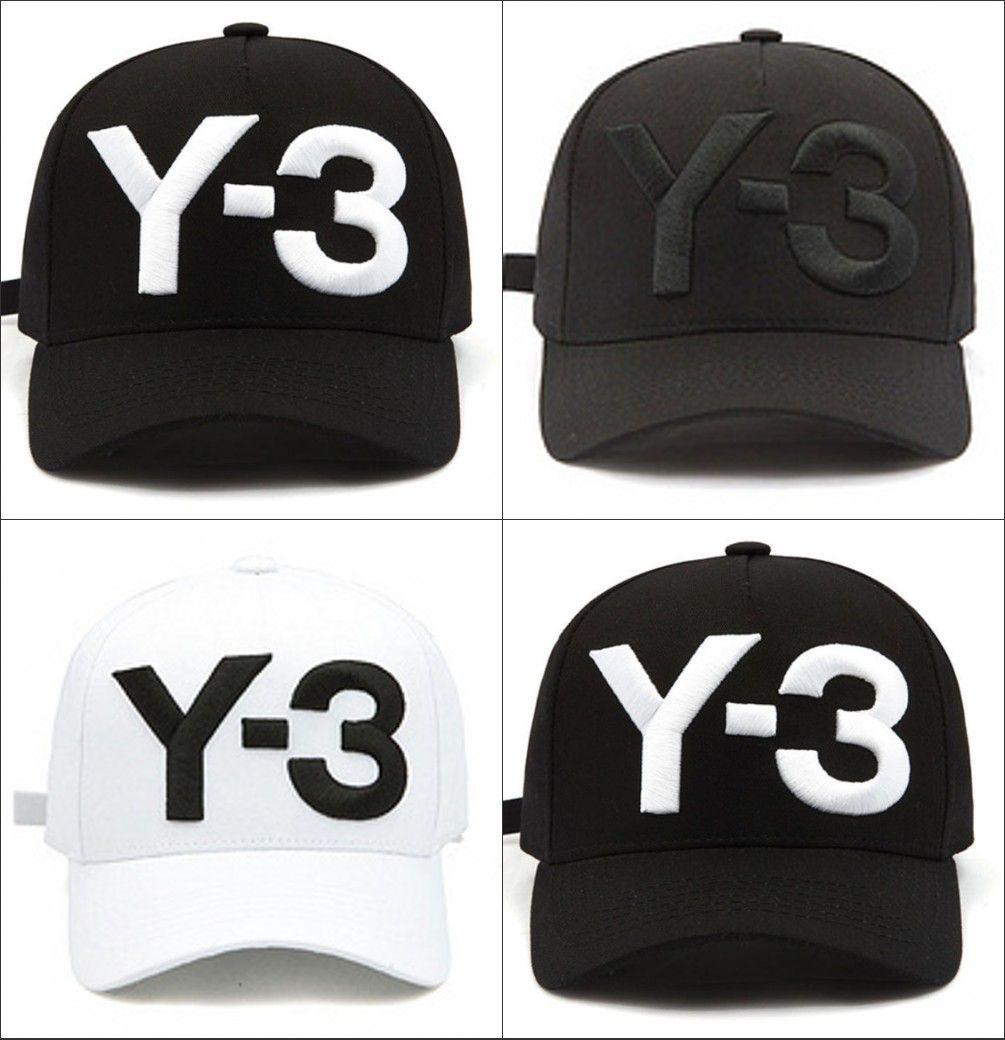 Grosshandel Neue Y 3 Dad Hut Kappe Big Bold Gestickte Logo Baseball