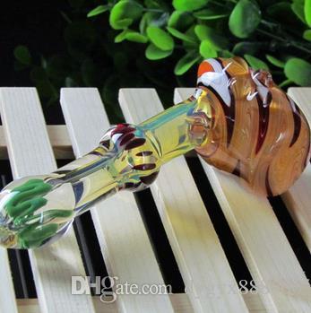 스테인드 글라스 파이프 원산지 희망, 긴 12.5cm와 5cm 무게 88g, 색상 임의 배송, 도매 유리 물 담뱃대, f를 수입